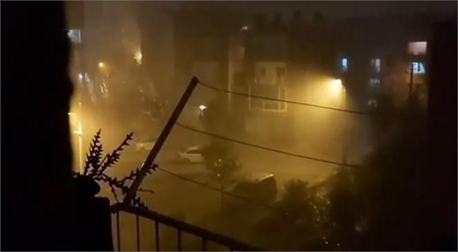 Günlerdir Beklenen Yağmur Akşam Saatleri İtibari İle Mersin ve Mahallelerinde Etkili Olmaya Başladı