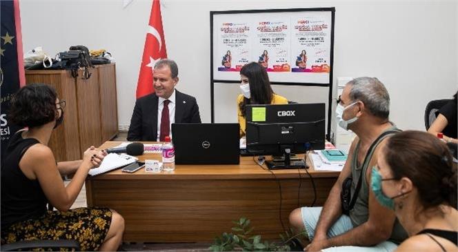 Mersin Büyükşehir Belediye Başkanı Vahap Seçer, Öğrencilerle Buluştu