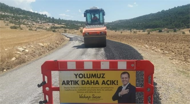 Mersin Büyükşehir Belediyesi Yol Asfalt Birimi Ekipleri, Hem Tarsus'ta, Hem de Çamlıyayla'da Sathi Asfalt Dökümü Öncesi Birçok Noktada Zemin Revize ve İyileştirme Çalışmalarını Sürdürüyor.
