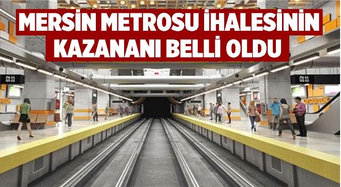 Mersin Metrosu'nda En Önemli Aşama Tamamlandı! İhalenin Kazananı Belli Oldu