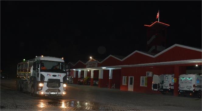 Mersin Büyükşehir Ekipleri, Tunceli'deki Yangına Müdahale İçin Yola Çıktı