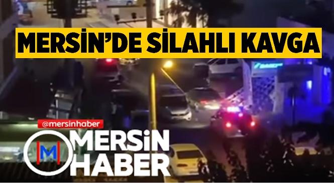 Mersin'in Mezitli İlçesinde Çıkan Kavgada Silahlar Konuştu, 2 Kişi Yaralandı