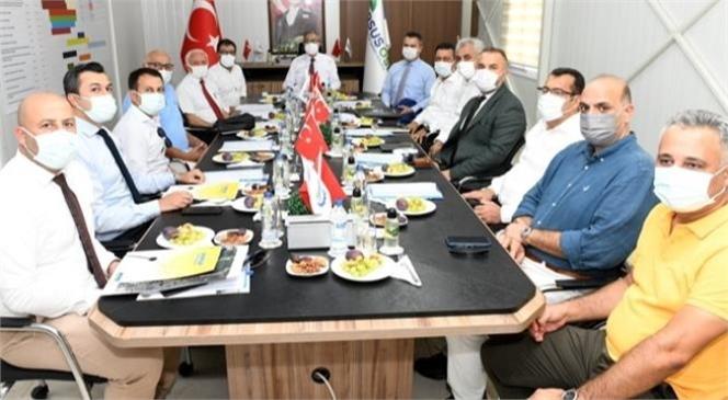 Vali Ali İhsan Su, Mersin-tarsus Organize Sanayi Bölgesi (MTOSB) İle Tarsus OSB (Tosb) Yönetim Kurulu ve Müteşebbis Heyet Toplantılarına Başkanlık Etti