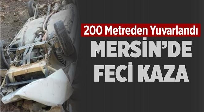 Mersin'in Bozyazı İlçesinde Meydana Gelen Kazada 1'i Ağır 2 Kişi Yaralandı