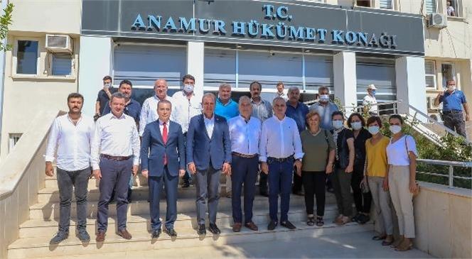 Mersin Büyükşehir'den Anamur'da Tarımsal Hizmet Atağı
