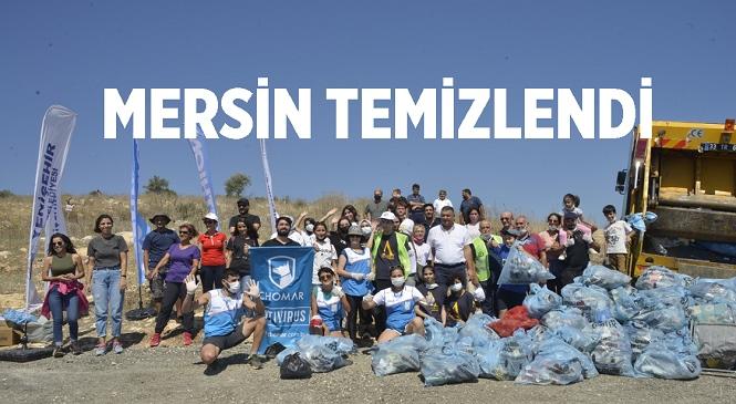 Temizlik Hareketi 'Let's do it, Türkiye'den Temizlik Günü Etkinliği! Mersin Gelincik Tepesi Temizlendi