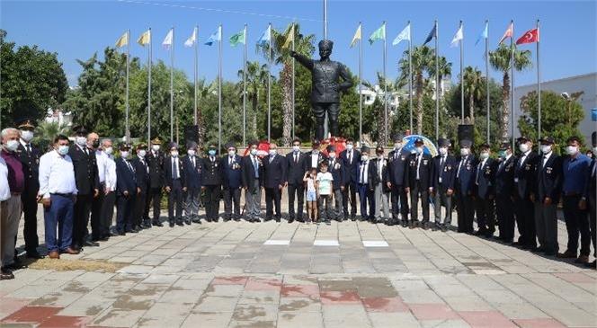 Mersin Erdemli'de 19 Eylül Gaziler Günü Dolayısıyla Tören Düzenlendi