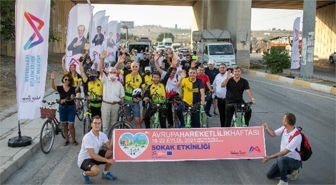 Büyükşehir'in Bisiklet Turu İle Renkli Görüntüler Oluştu