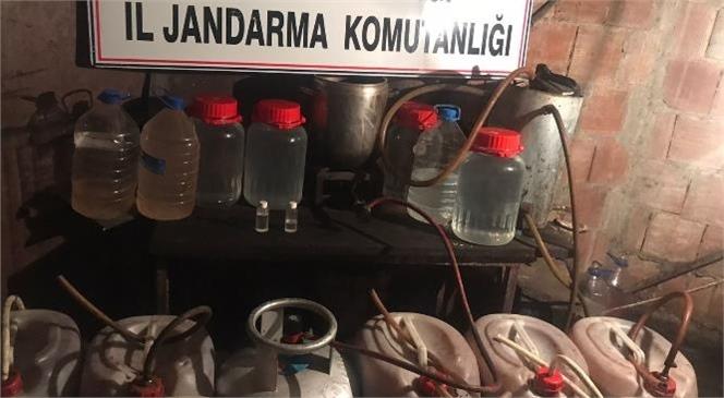 Mersin'de 336 Litre Kaçak İçki Ele Geçirildi