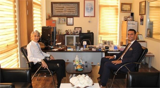 Tarsus SGK Müdürü Süleyman Metin Prim Borçlarına Ait Yapılandırma Hakkında Tarsus Ticaret Borsasını Ziyaret Etti