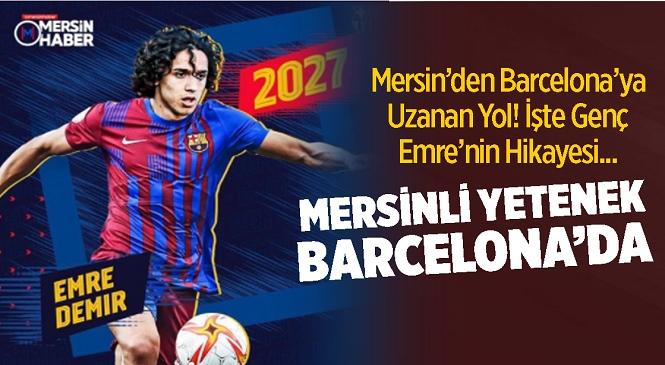 Mersinli Genç Futbolcu Emre Demir Kayserispor'dan Barcelona'ya Transfer Oldu! Peki Emre Demir Kimdir? Boyu ve Kilosu Kaç? Oynadığı Mevki Neresi? İşte Merak Edilen Soruların Yanıtları…