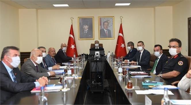 Vali Ali İhsan Su, 'üniversitelerde Güvenlik Koordinasyon Toplantısı'na Başkanlık Etti