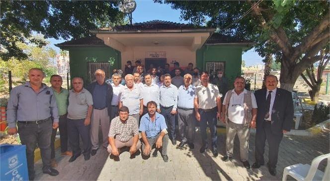 Büyükşehir Daire Başkanları, Tarsus Muhtarlar Derneği Üyeleriyle İstişare Toplantısında Bir Araya Geldi