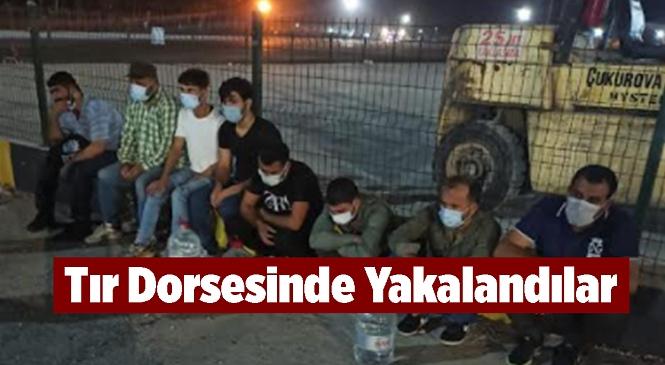 Mersin'in Silifke İlçesinde Kaçak Yollarla KKTC'ye Gitmeye Çalışan 8 Göçmen Yakalandı