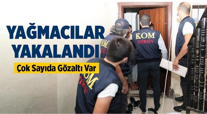 """Turistik Bölgelerde Faaliyet Yürüten Suç Örgütlerine Yönelik 9 İlde Eş Zamanlı """"Sahil Rüzgarı-2"""" Operasyonu Düzenlendi! Mersin'de de Gözaltılar Var"""
