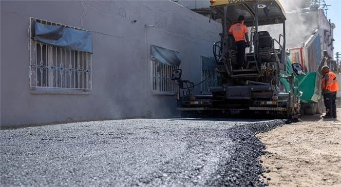 MESKİ Çay Mahallesi'nde İçmesuyu Çalışmasını Bitirdi, Büyükşehir Asfalta Başladı