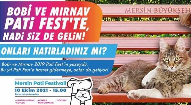 Mersin'de Patili Dostların Festivali: Pati Fest