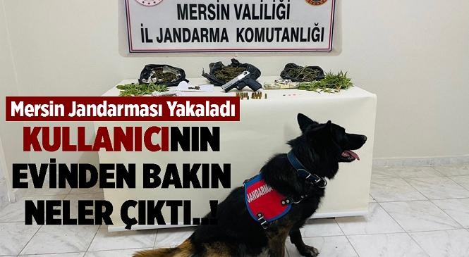 Mersin'de Takibe Alınan Uyuşturucu Kullanıcısı Şahısın Evinden 800 Gram 'zehir' Çıktı
