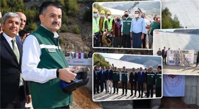 Tarım ve Orman Bakanı Dr. Bekir Pakdemirli Mersin'de