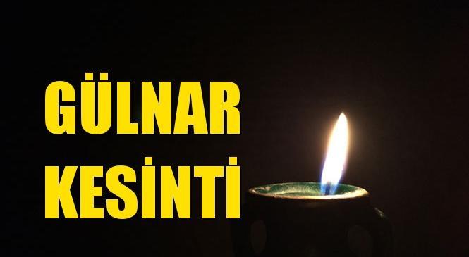 Gülnar Elektrik Kesintisi 18 Ekim Pazartesi