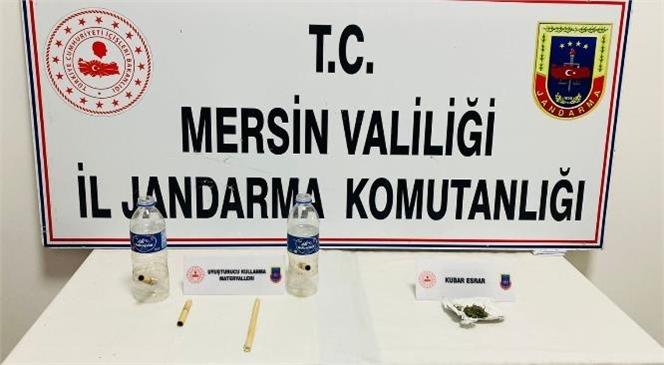 Mersin Jandarmasından Uyuşturucu Kullanıcılarına Operasyon! 2 Şüpheli Yakalandı