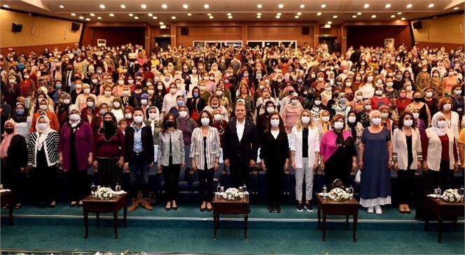 Başkan Seçer, Mersin'in Dört Bir Yanından Gelen Çiftçi Kadınlarla Buluştu
