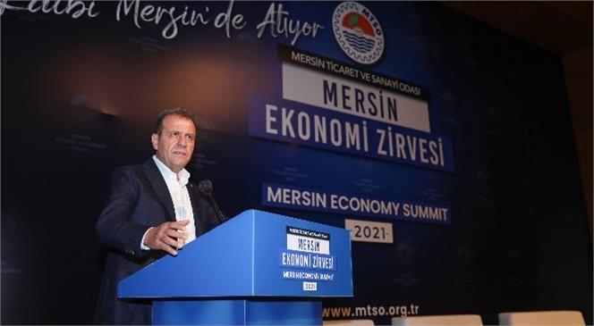 """Seçer: """"Mersin'in, Dünyanın Çok Önemli Bir Lojistik Merkezi Haline Gelmesi Söz Konusu"""""""
