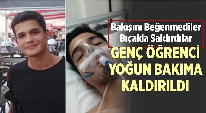 Mersin'in Mezitli İlçesinde Dershaneden Dönen Gence Bıçaklı Saldırı! Bakışını Beğenmedikleri Gerekçesiyle Saldırdılar