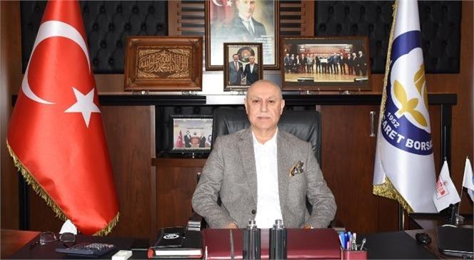 Tarsus Ticaret Borsası Başkanı Murat Kaya 29 Ekim Cumhuriyet Bayramı'nı Yayımladığı Mesajla Kutladı