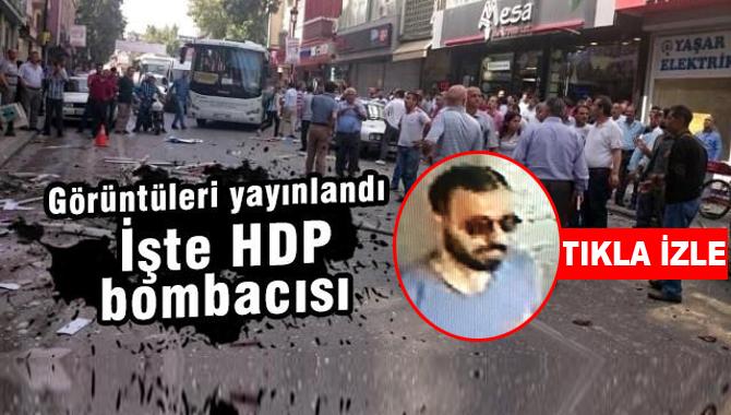 İşte HDP Binalarına Bomba Koyan Terörist!