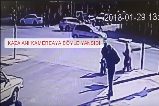 Tarsus'ta Kaza Anı Böyle Görüntülendi, Kazada 1 Çocuk Hayatını Kaybetti