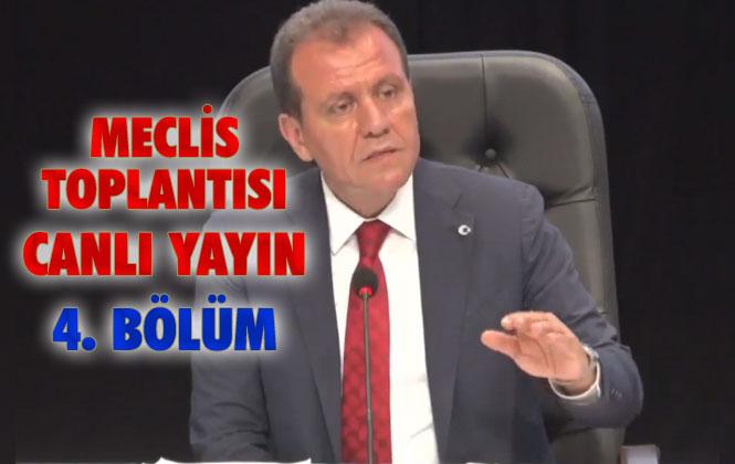 Canlı Yayın: Mersin Büyükşehir Belediyesi Meclis Toplantısı 4. Bölüm