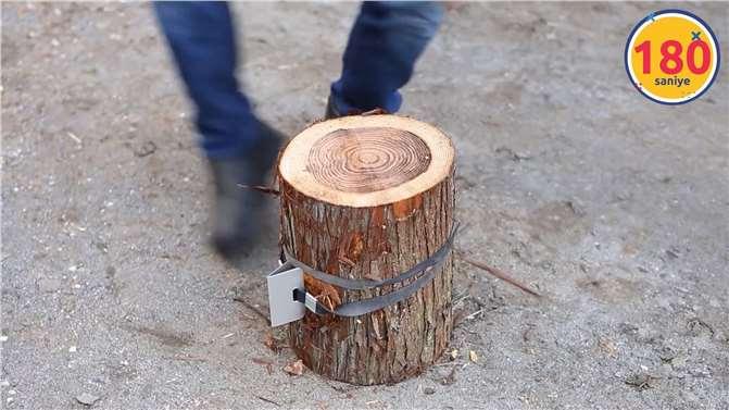 Odun Nasıl Kesilir, Birde Bunu İzleyin!