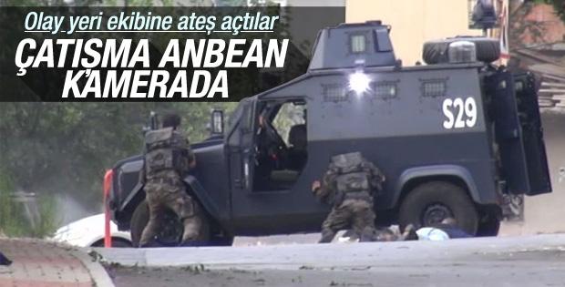Sultanbeyli'deki Çatışma Kameralara Böyle Yansıdı