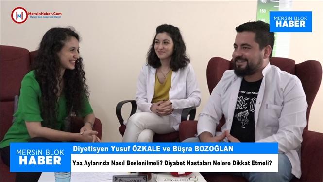 Yusuf ÖZKALE ve Diyetisyen Büşra Bozoğlan İle Ropörtaj - MersinHaber.com