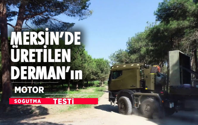 Derman Motor Soğutma ve Performans Testi