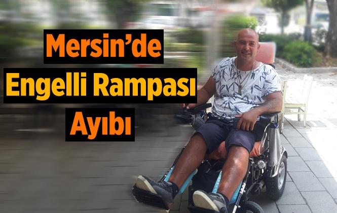 Mersin'de Tarihi Mekanda Engelli Rampası Ayıbı