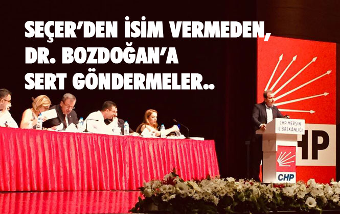 Vahap Seçer'den Danışma Kurulu Toplantısında, Katılım Göstermeyen Dr. Bozdoğan'a Sert Gönderme