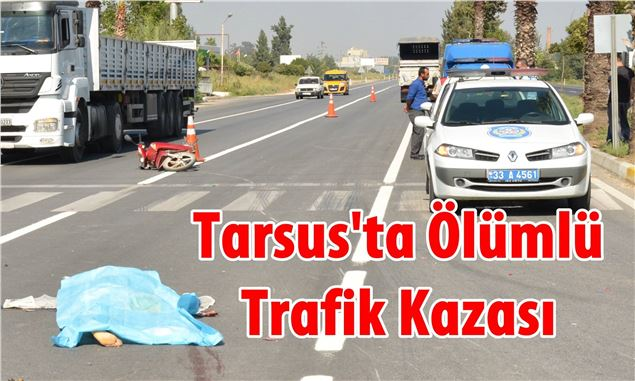 Tarsus'ta  2 Kişinin Öldüğü Kaza Araç Kamerasına Saniye Saniye Yansıdı
