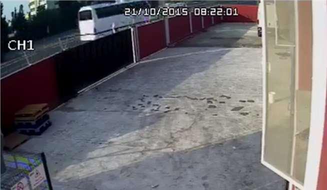 Tarsus'taki TOK Kazası Kamer Kayıtlarına Böyle Yansıdı