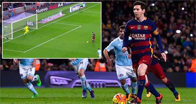 Messi, Penaltı Pozisyonunda Suarez'e Asist Yaptı