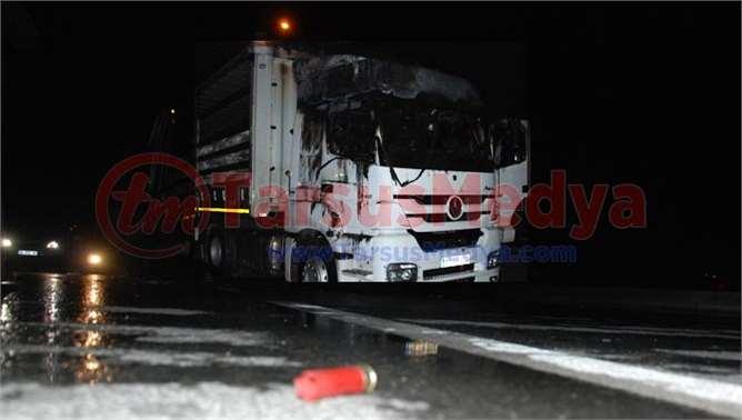 Tarsus'taki olaylarda araçlar yakıldı: 1 yaralı