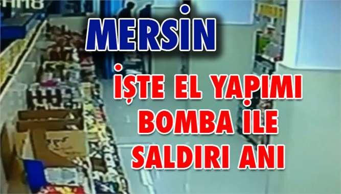 İşte Saldırı Anı, Mersin'de Eş Zamanlı 3 Patlama