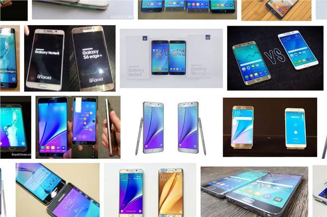 Samsung Galaxy Note 5 ve Samsung Galaxy S6 Edge+ Karşılaştırması