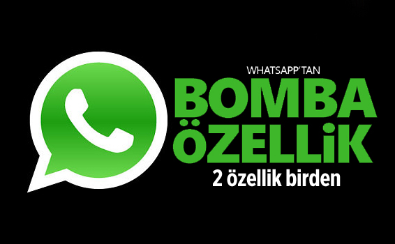 WhatsApp'da devrim gibi iki özellik! İşte o özellikler..