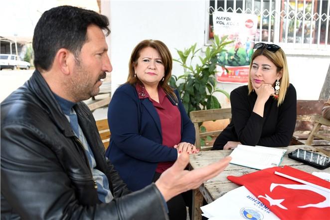 Büyükşehir Ekipleri Köy Köy Gezerek Sorunları Dinliyorlar
