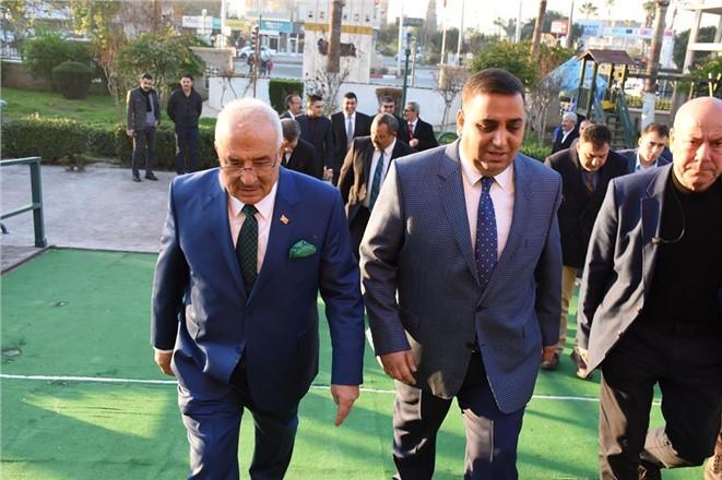 Başkanlar Muhtarlarla Bir Araya Geldi