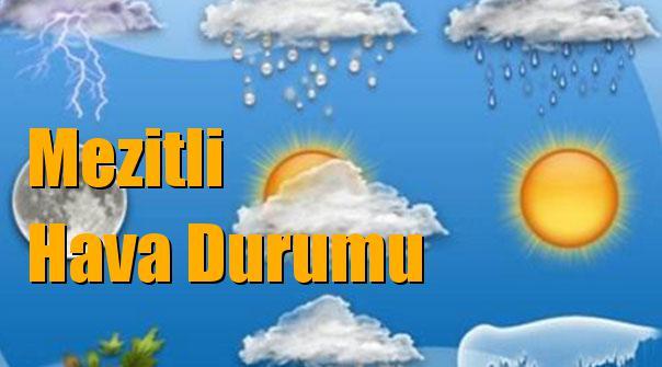 Mezitli Hava Durumu; 10 Ocak Çarşamba, 11 Ocak Perşembe, 12 Ocak Cuma, 13 Ocak Cumartesi tahminler