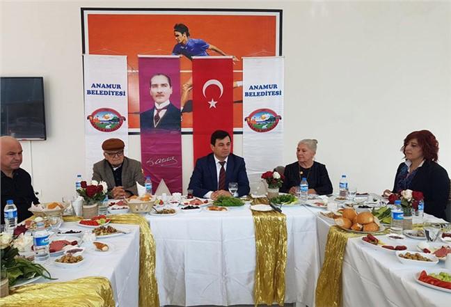 Anamur Belediye Başkanı Mehmet Türe Gazetecilerle Bir Araya Geldi