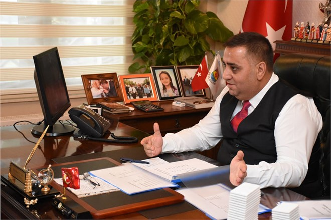 """Tarsus Belediye Başkanı Şevket Can """"Zeytin Dalı"""" Mesajı"""